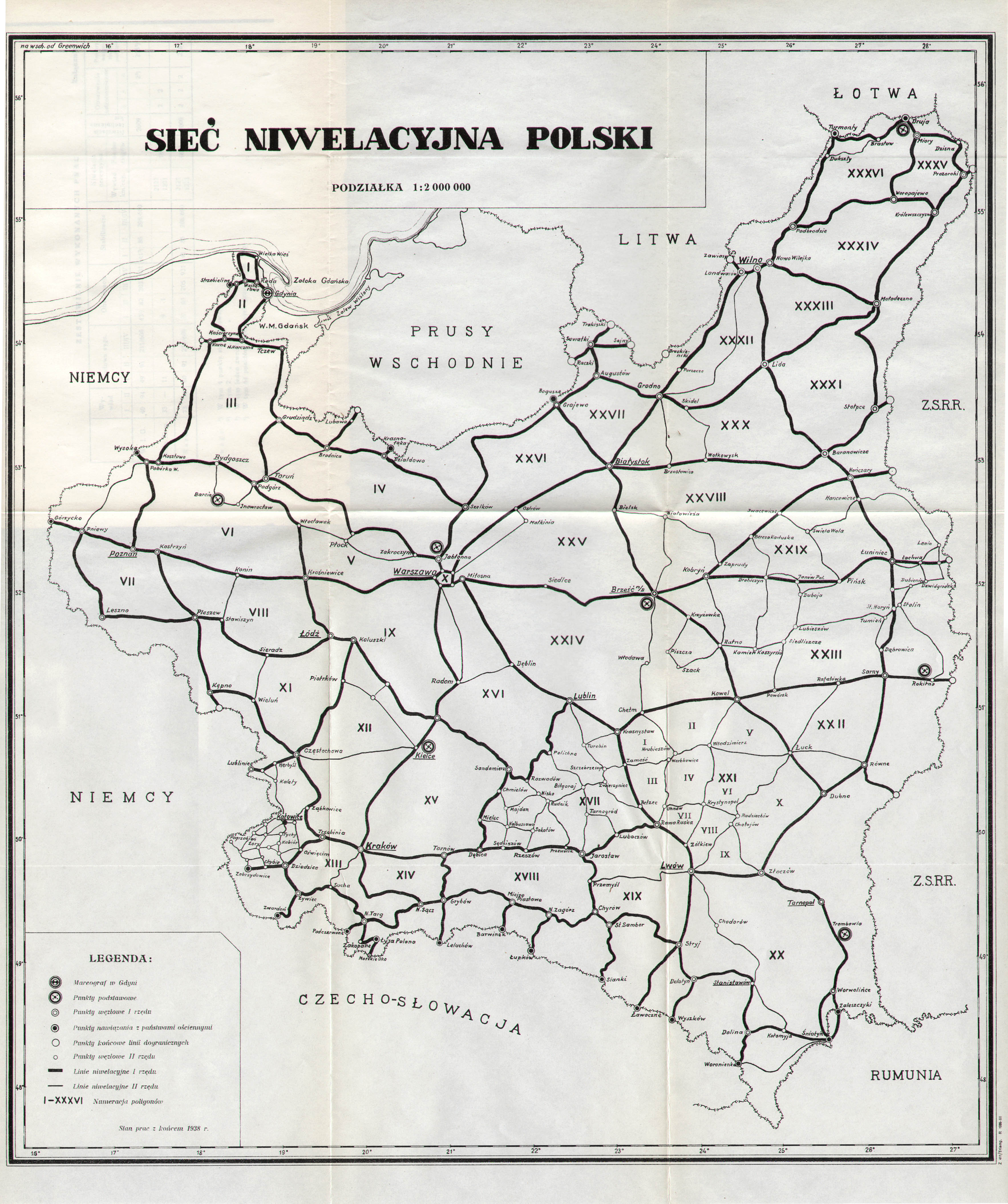 Mapa Administracyjna Polski 1939 Dzienniklodzki Pl